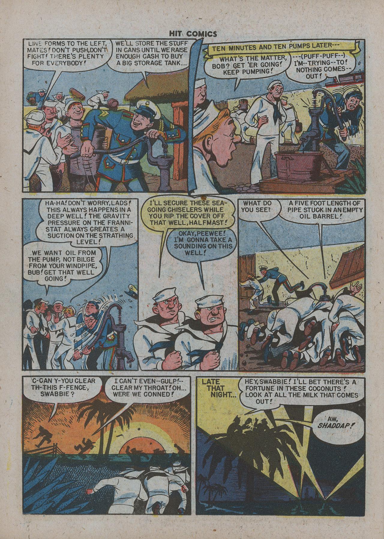 Read online Hit Comics comic -  Issue #63 - 26