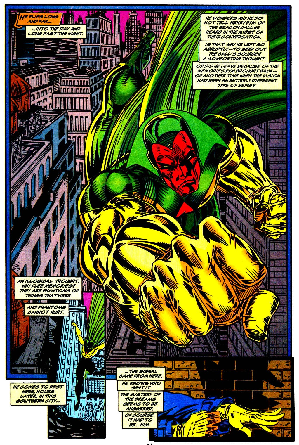 Read online The Vision comic -  Issue #1 - 11