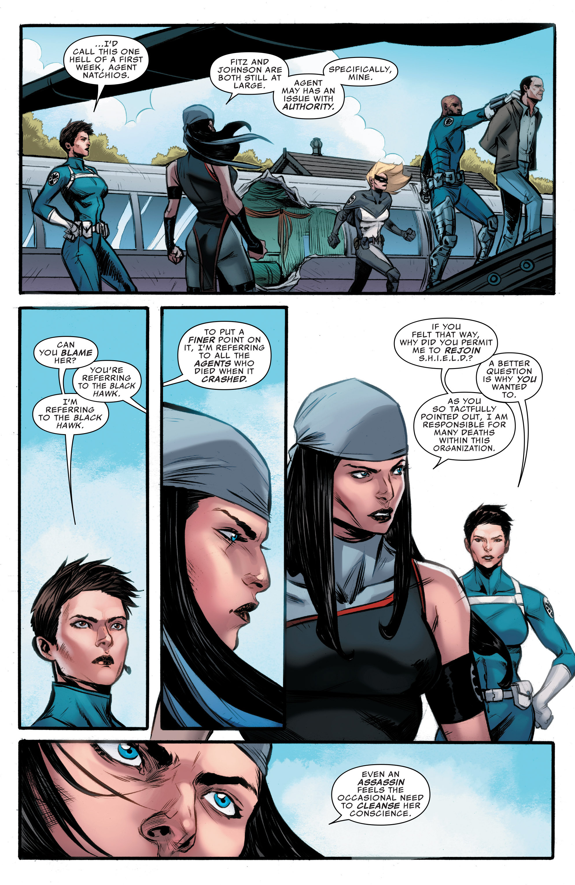 Read online Agents of S.H.I.E.L.D. comic -  Issue #9 - 21