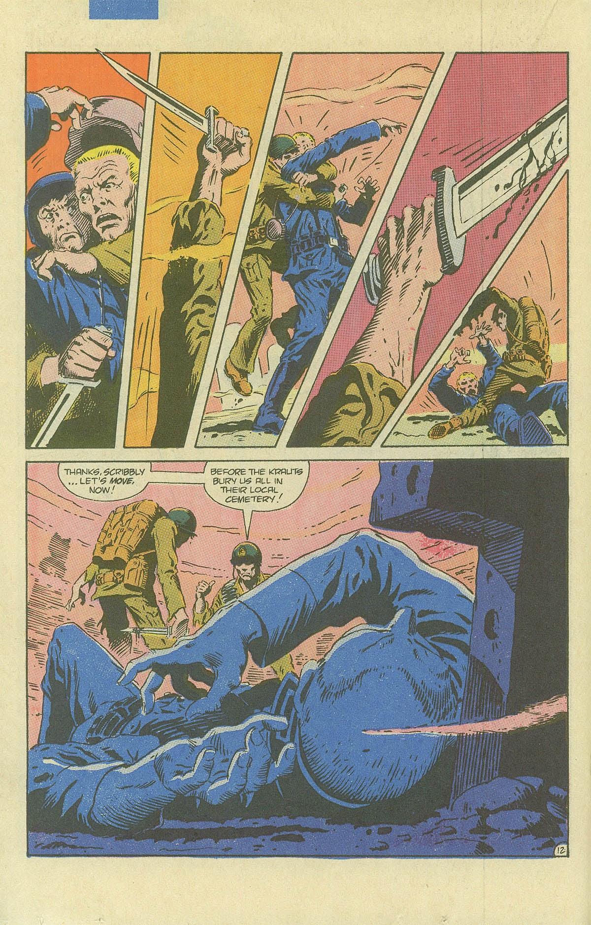 Read online Sgt. Rock comic -  Issue #408 - 17