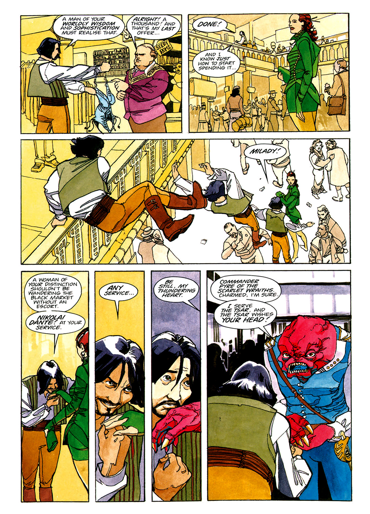 Read online Nikolai Dante comic -  Issue # TPB 1 - 10