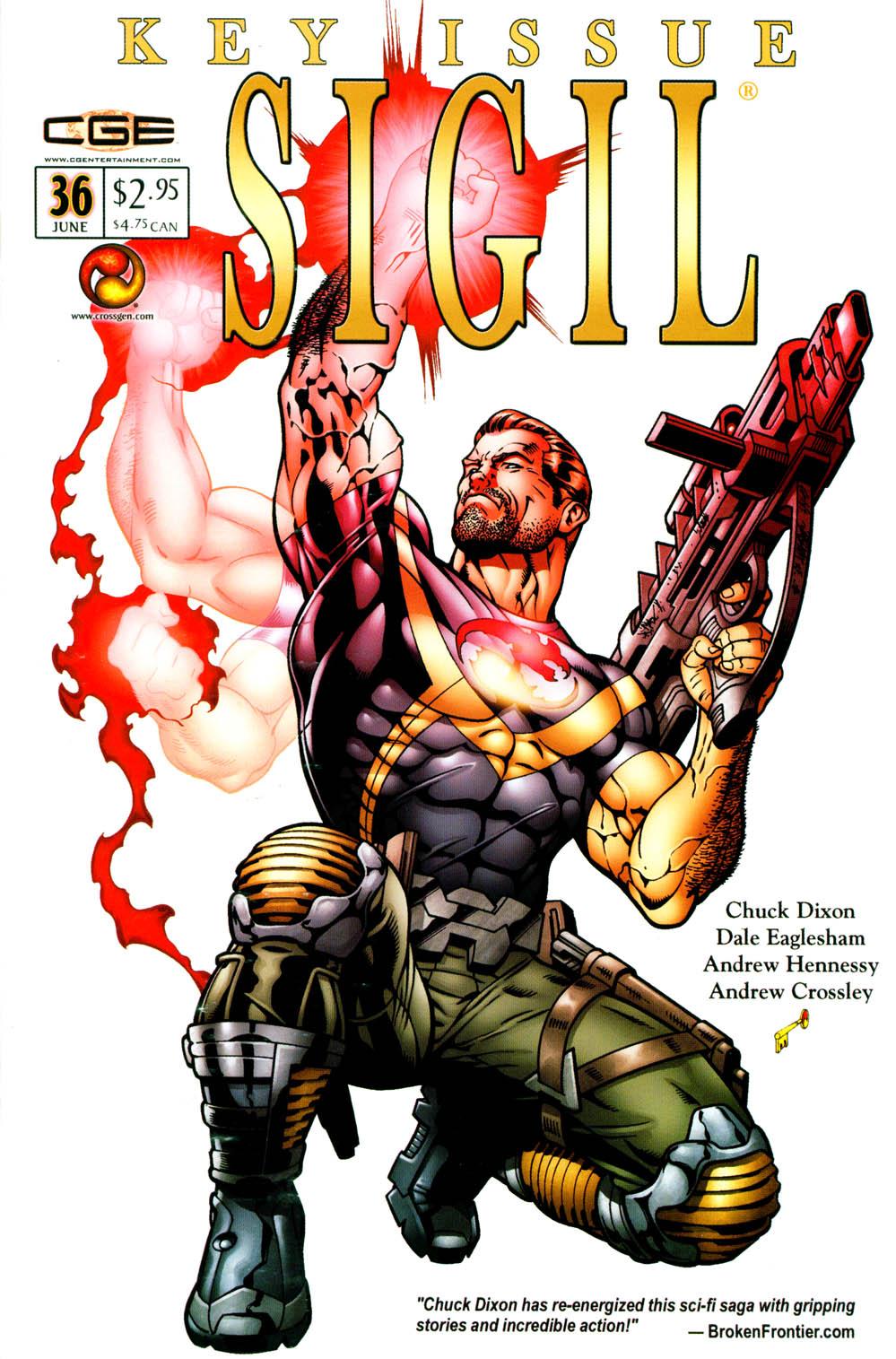 Read online Sigil (2000) comic -  Issue #36 - 3