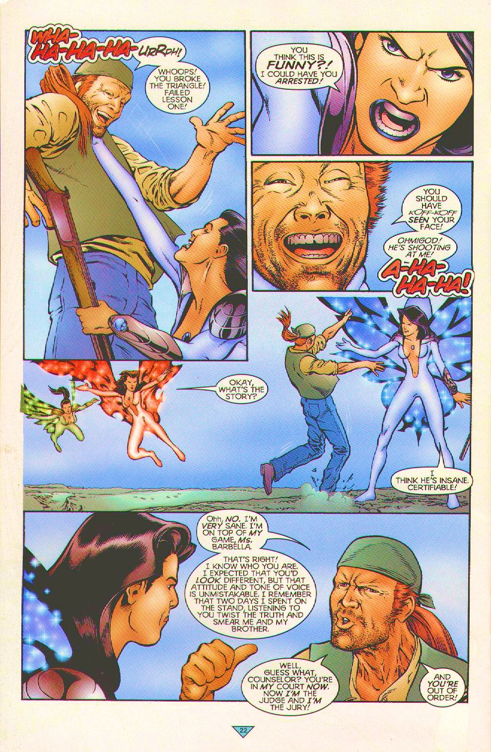 Read online Trinity Angels comic -  Issue #5 - 16