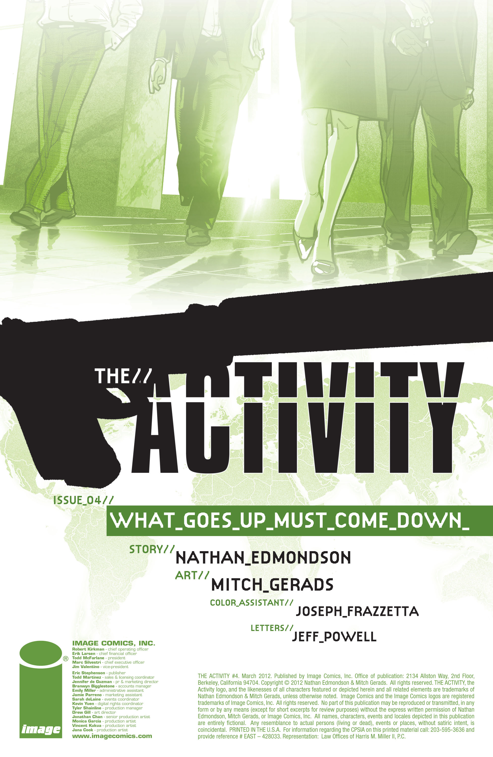 Read online The Activity comic -  Issue #4 - 3