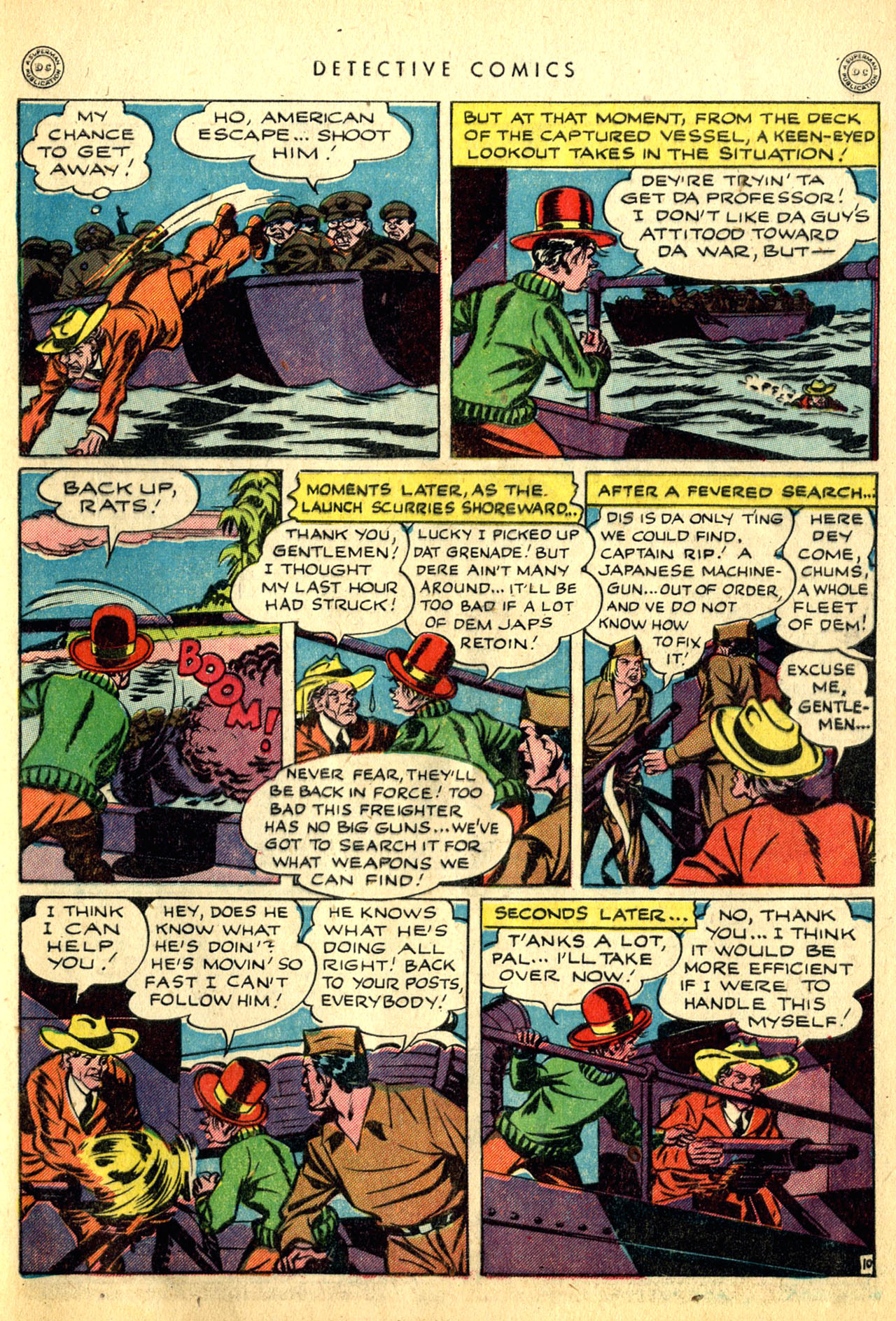 Read online Detective Comics (1937) comic -  Issue #91 - 49