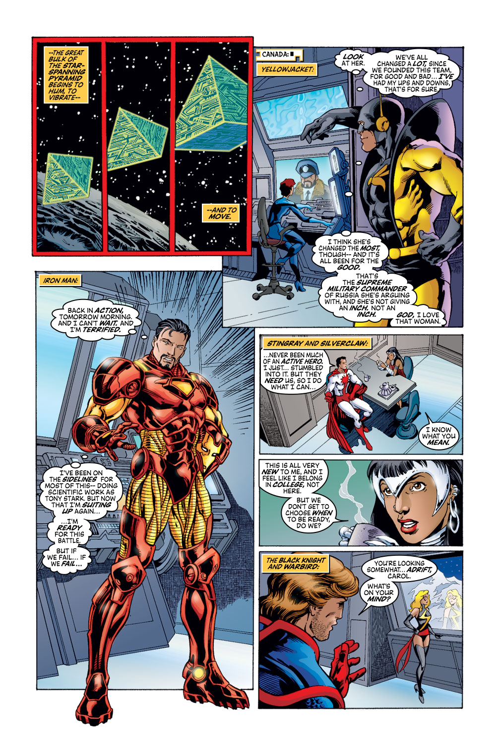 Read online Avengers (1998) comic -  Issue #52 - 9