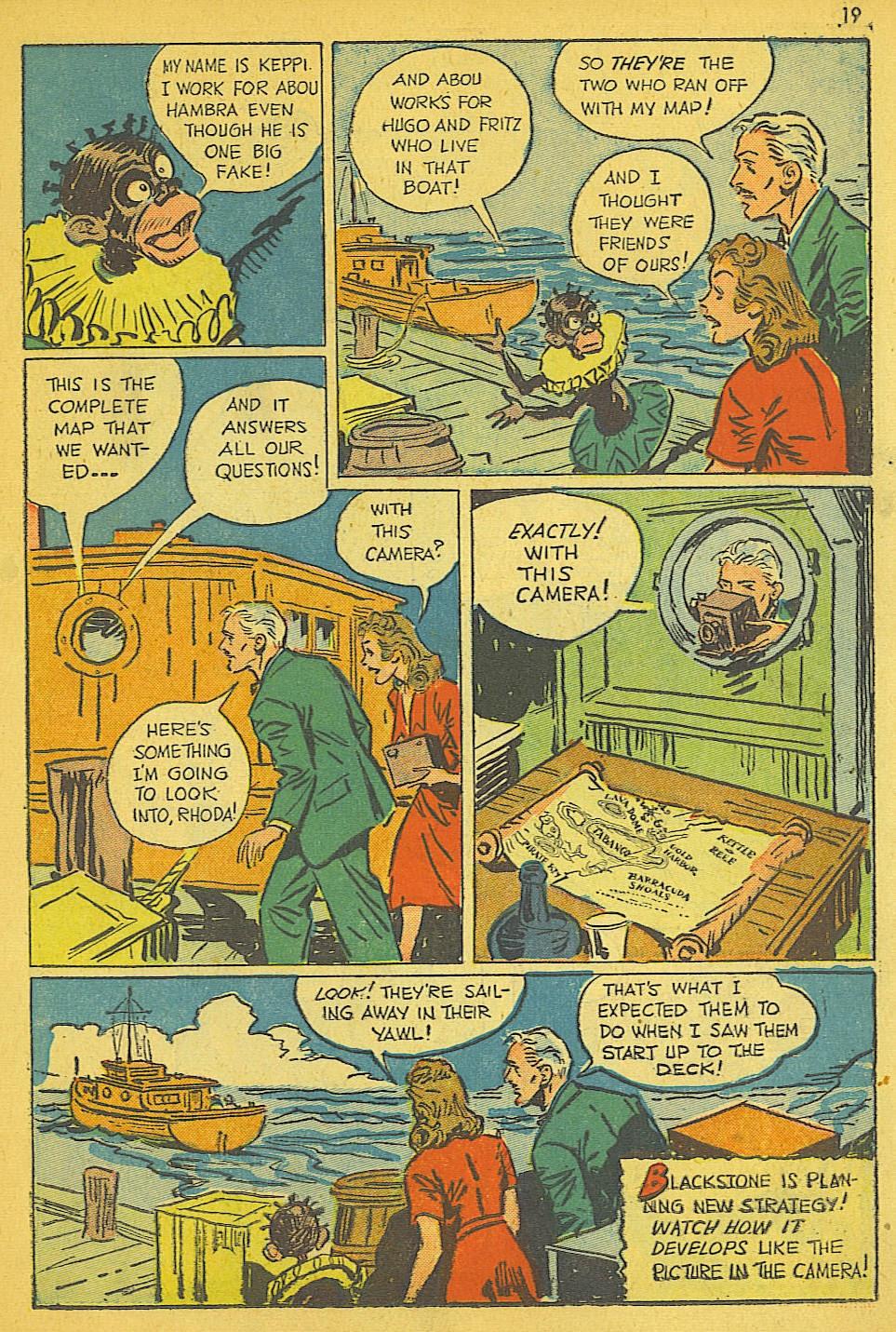 Read online Super-Magician Comics comic -  Issue #19 - 19