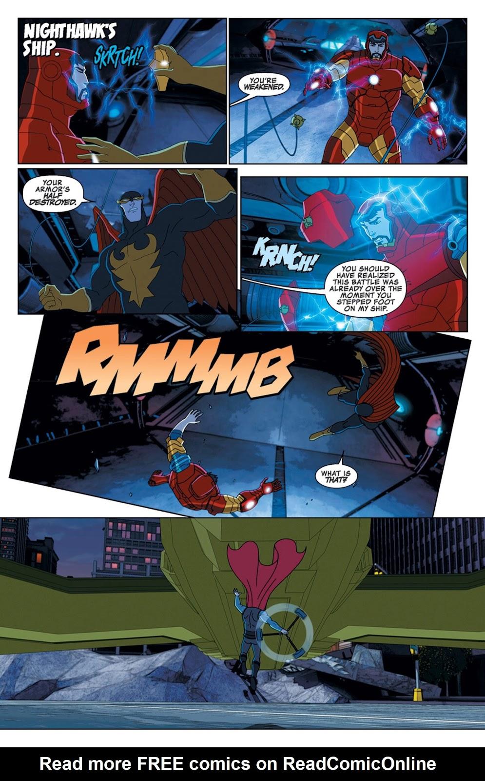 Read online Marvel Universe Avengers Assemble Season 2 comic -  Issue #14 - 25