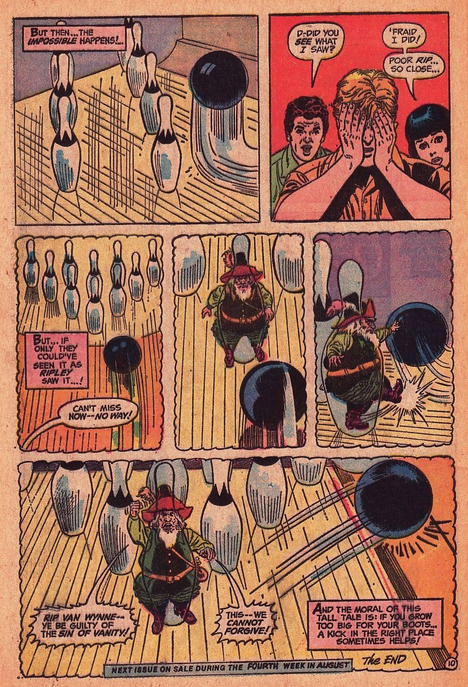 Read online Strange Sports Stories (1973) comic -  Issue #1 - 24