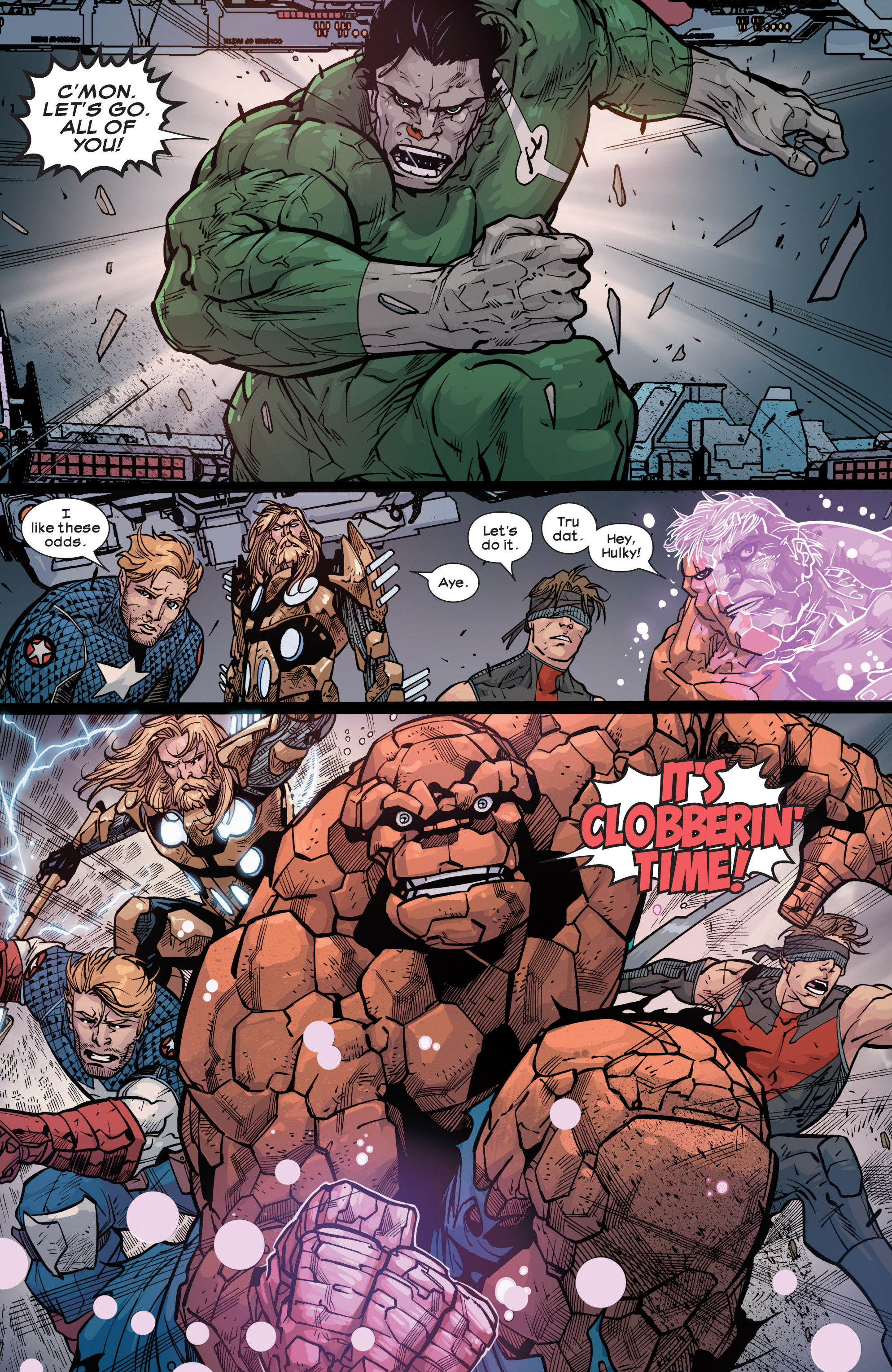 Read online Ultimate Comics Ultimates comic -  Issue #30 - 13