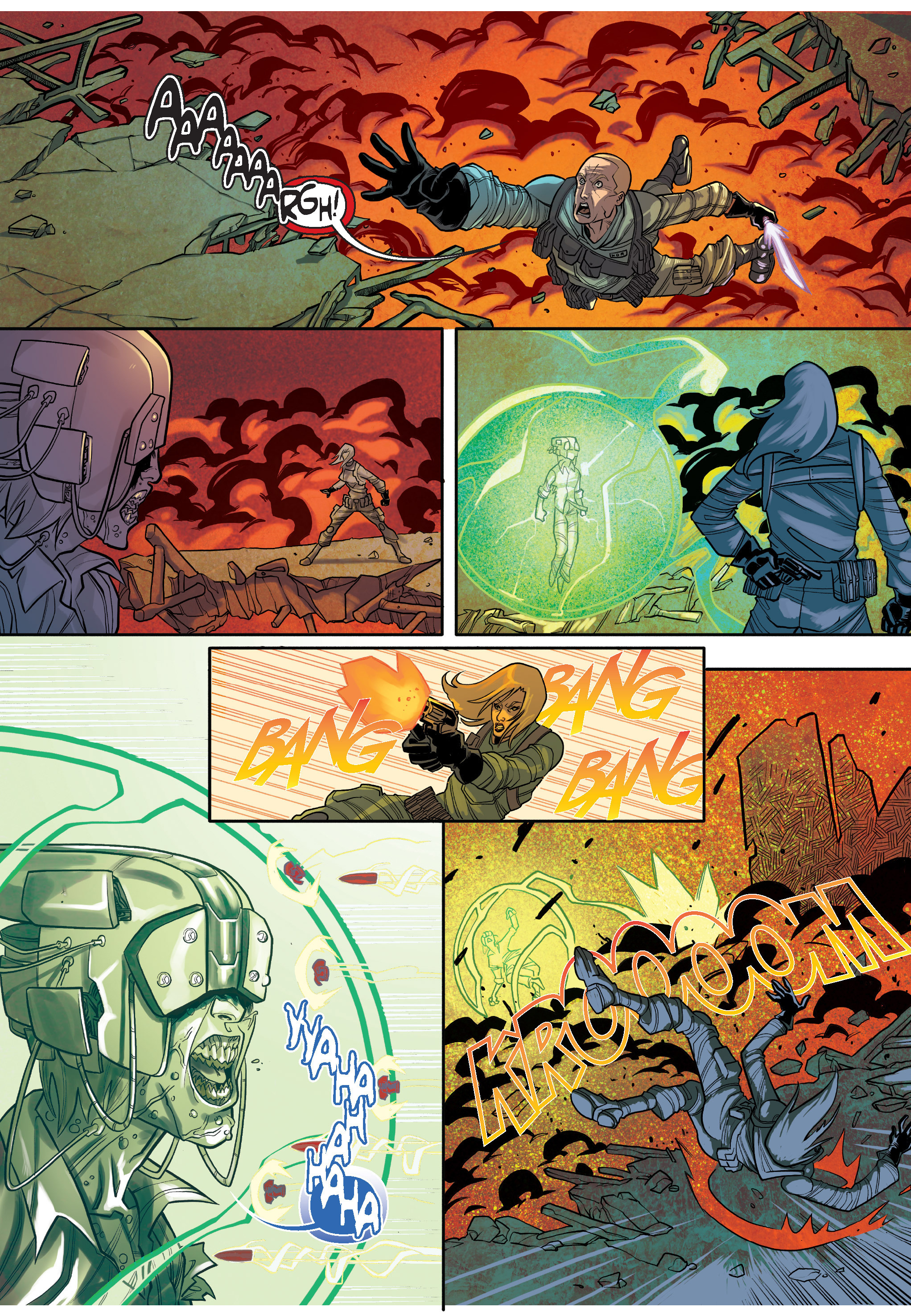 Read online The Shadow of a Terrible Thing comic -  Issue # TPB - 83