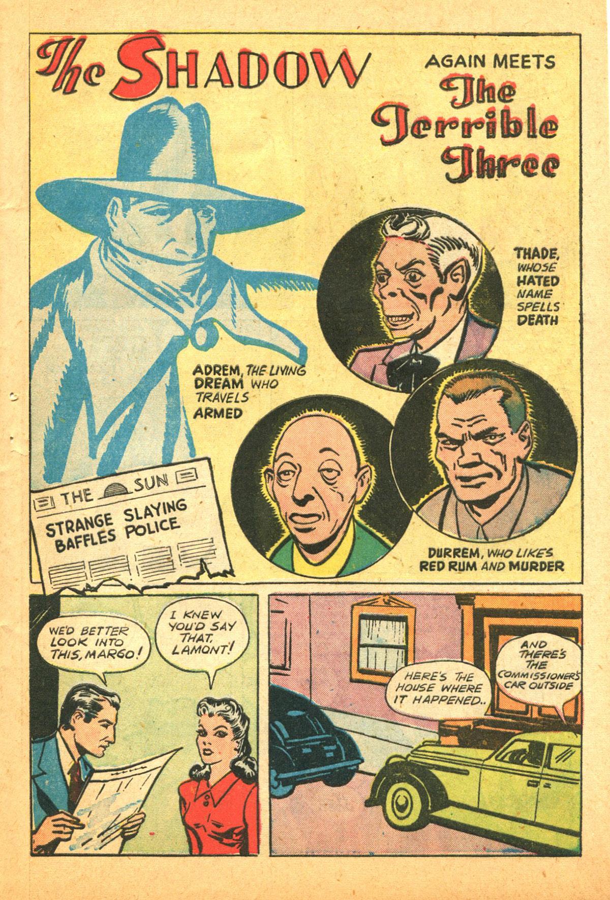 Read online Shadow Comics comic -  Issue #38 - 51