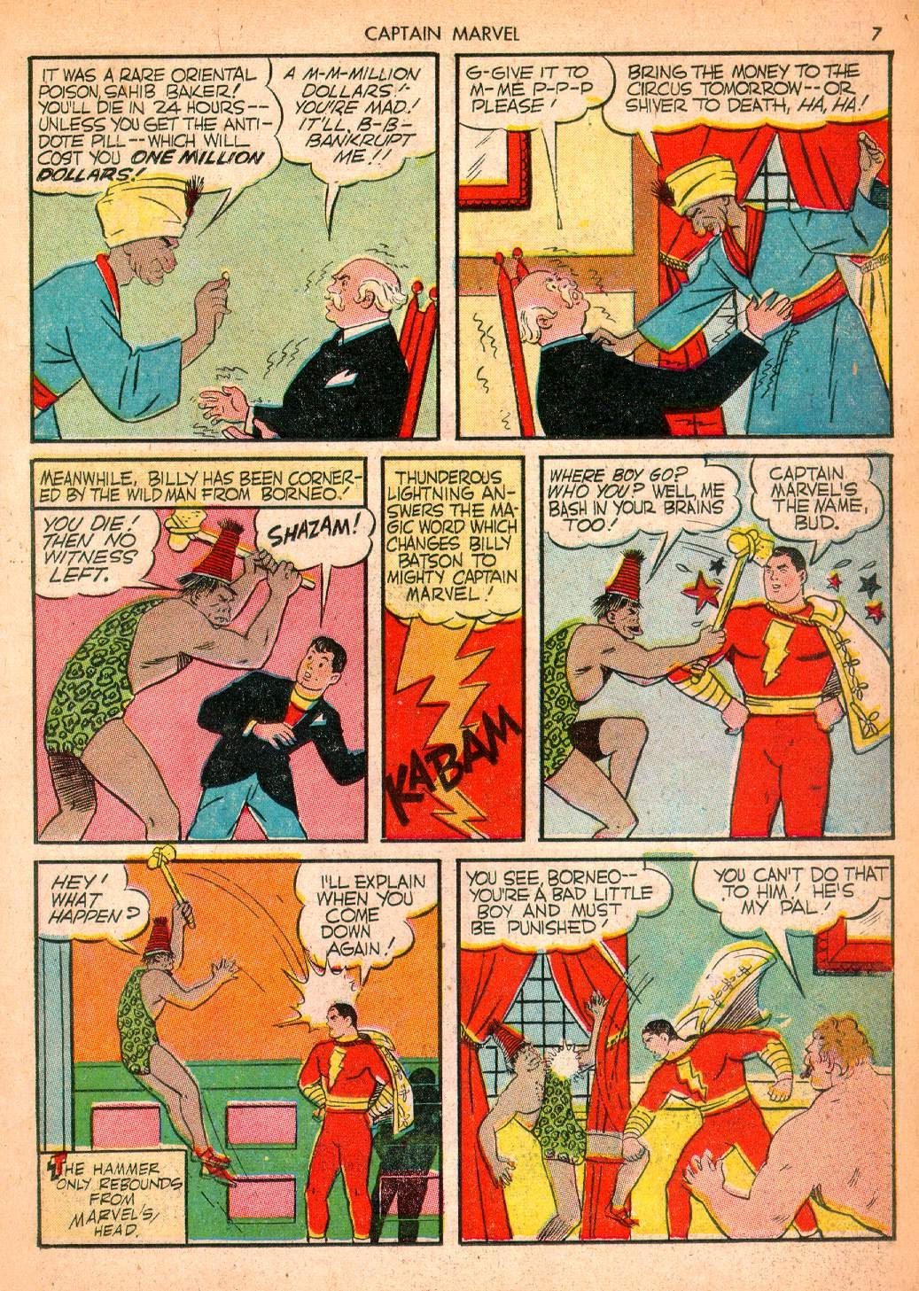 Captain Marvel Adventures issue 10 - Page 7