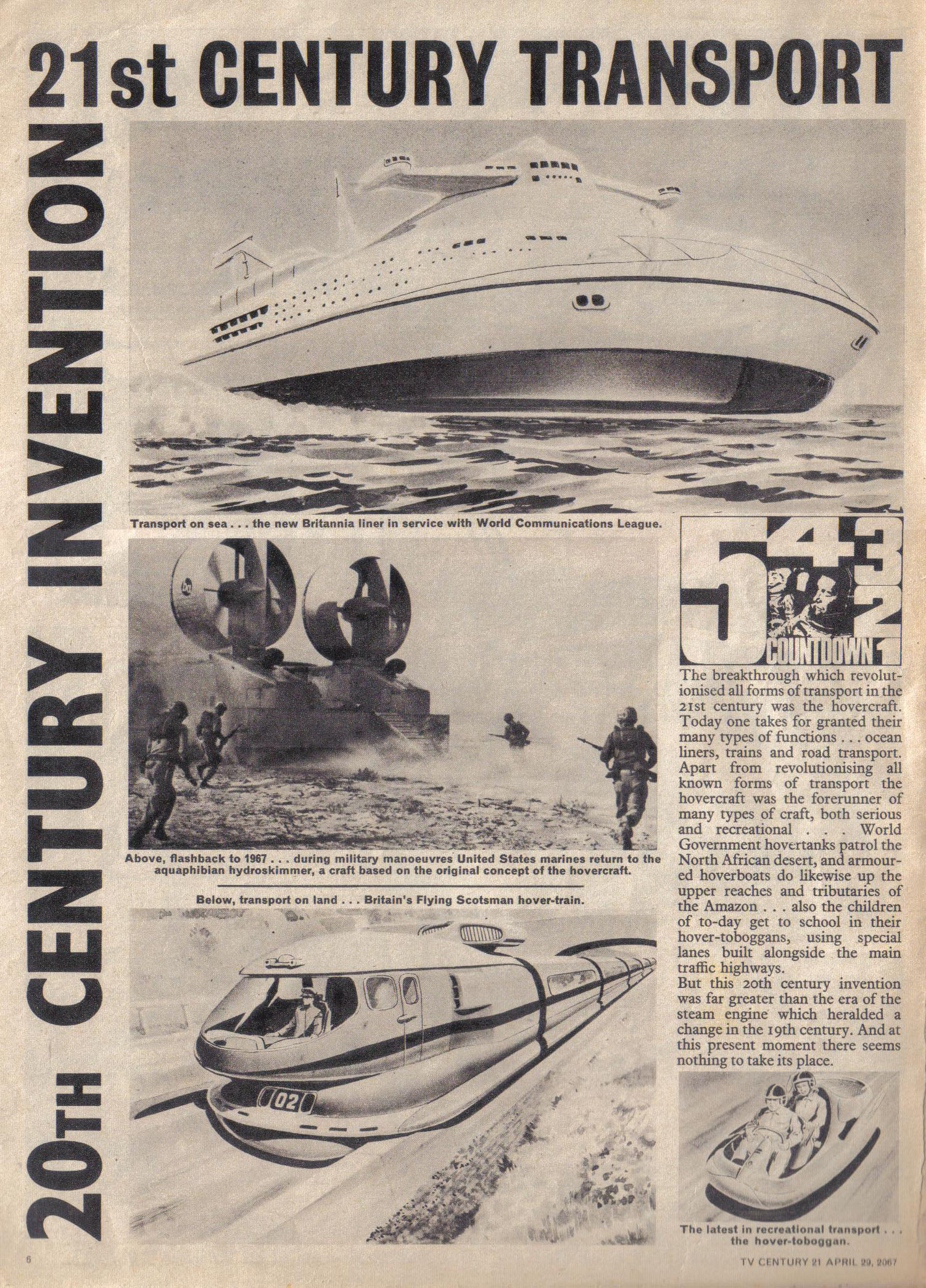 Read online TV Century 21 (TV 21) comic -  Issue #119 - 6