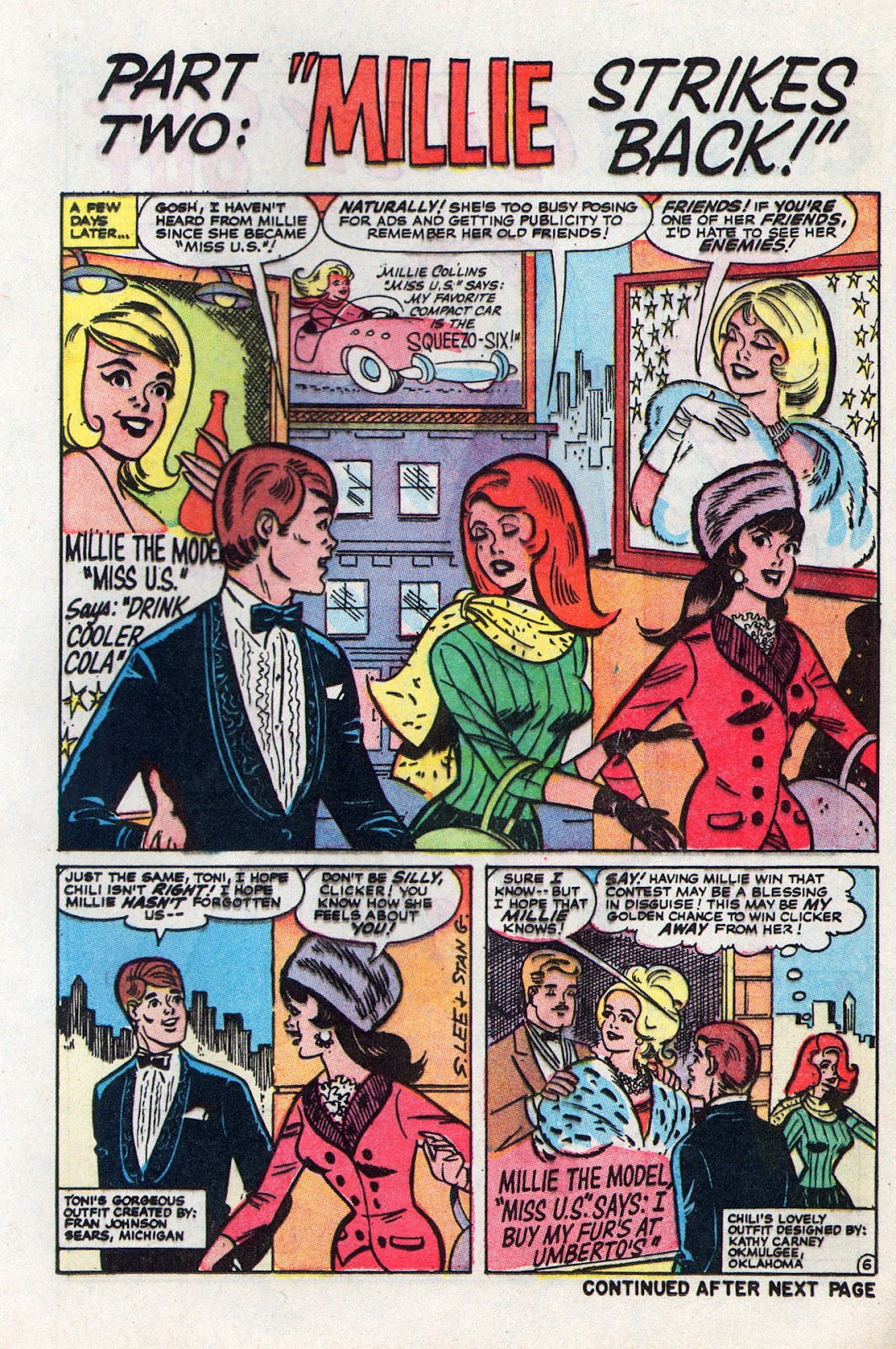 Read online Millie the Model comic -  Issue # Annual 6 - 53