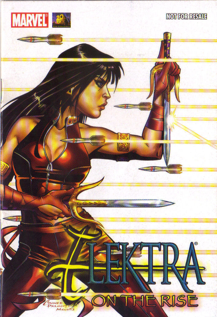 Read online Elektra: On the Rise comic -  Issue # Full - 1