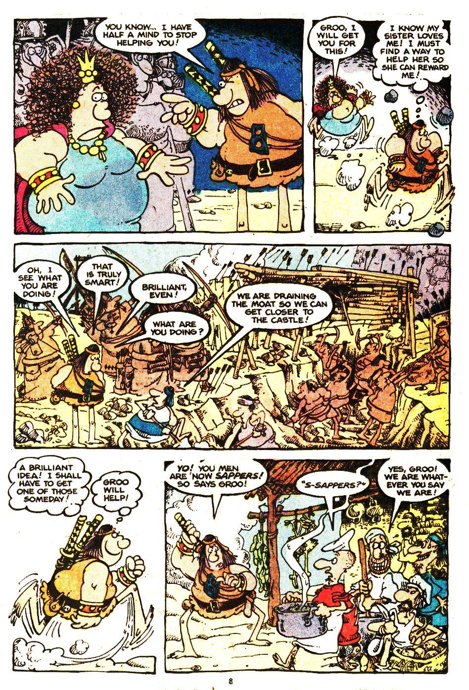 Read online Sergio Aragonés Groo the Wanderer comic -  Issue #20 - 8