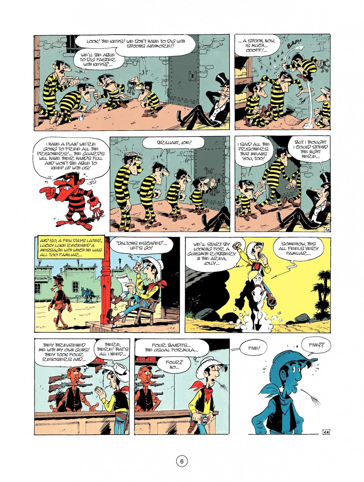 Read online A Lucky Luke Adventure comic -  Issue #37 - 6