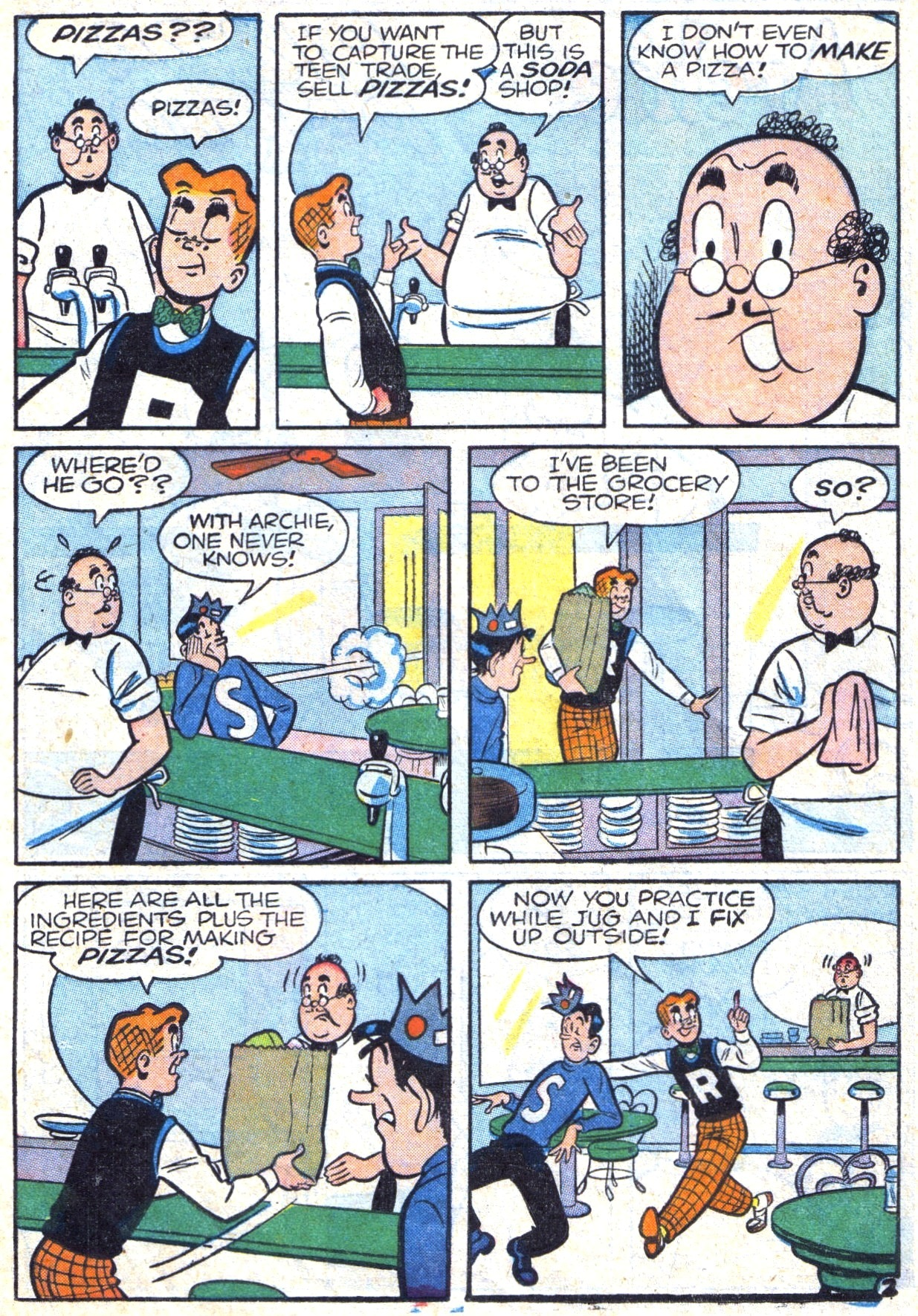 Read online Archie (1960) comic -  Issue #117 - 14