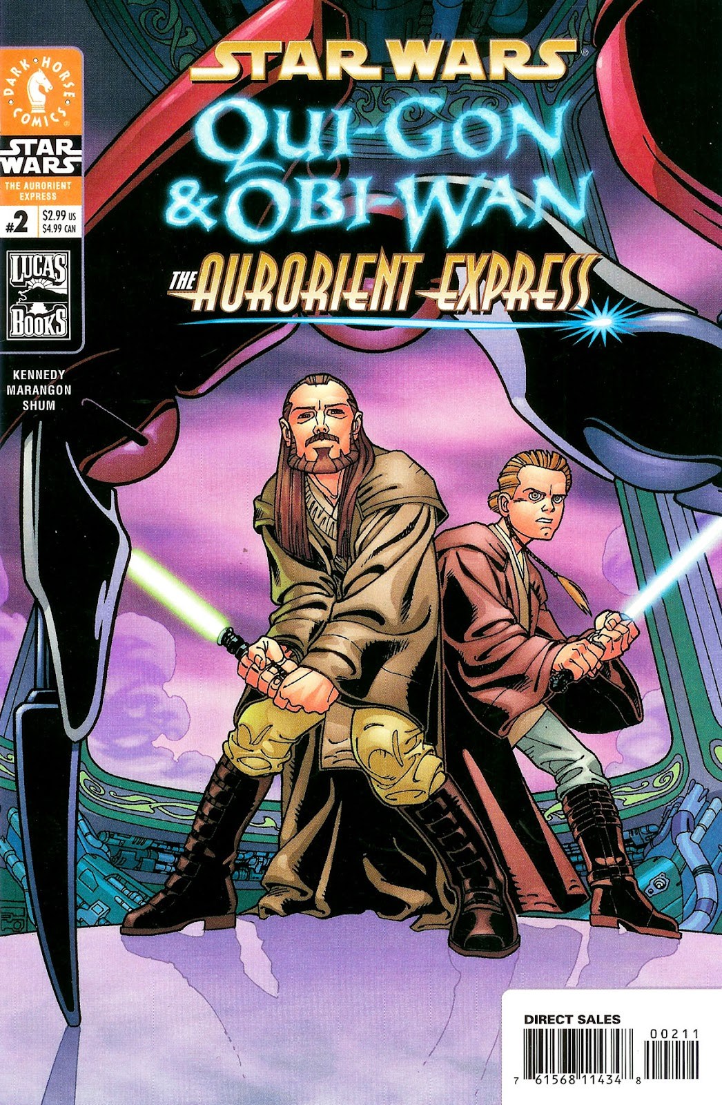 Star Wars: Qui-Gon and Obi-Wan - The Aurorient  Express 2 Page 1