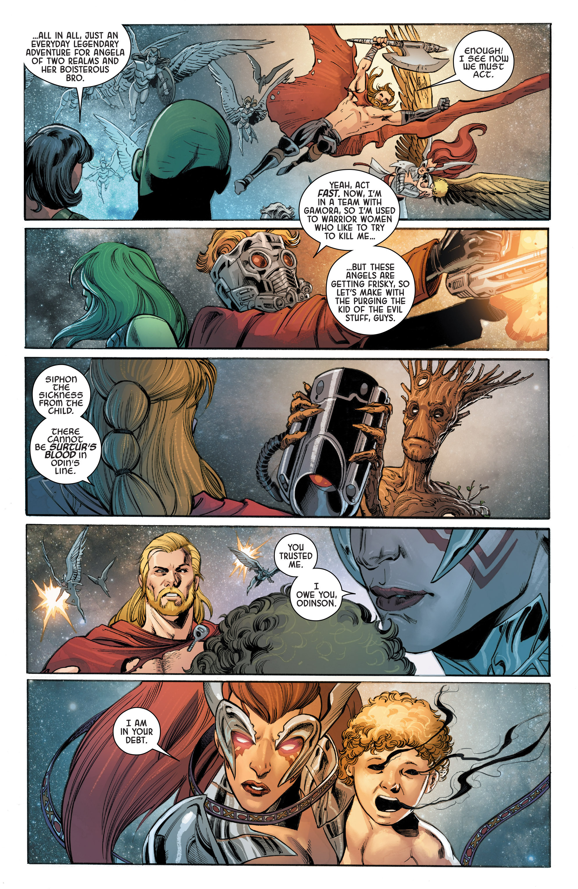 Read online Angela: Asgard's Assassin comic -  Issue #5 - 19
