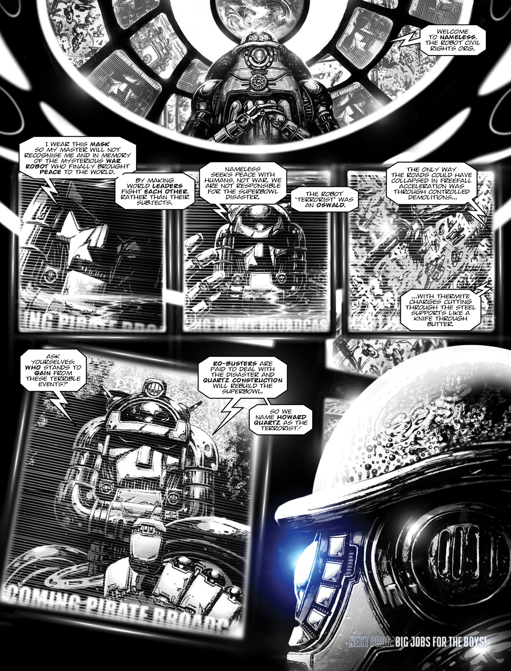 Read online 2000 AD comic -  Issue #1962 - 20