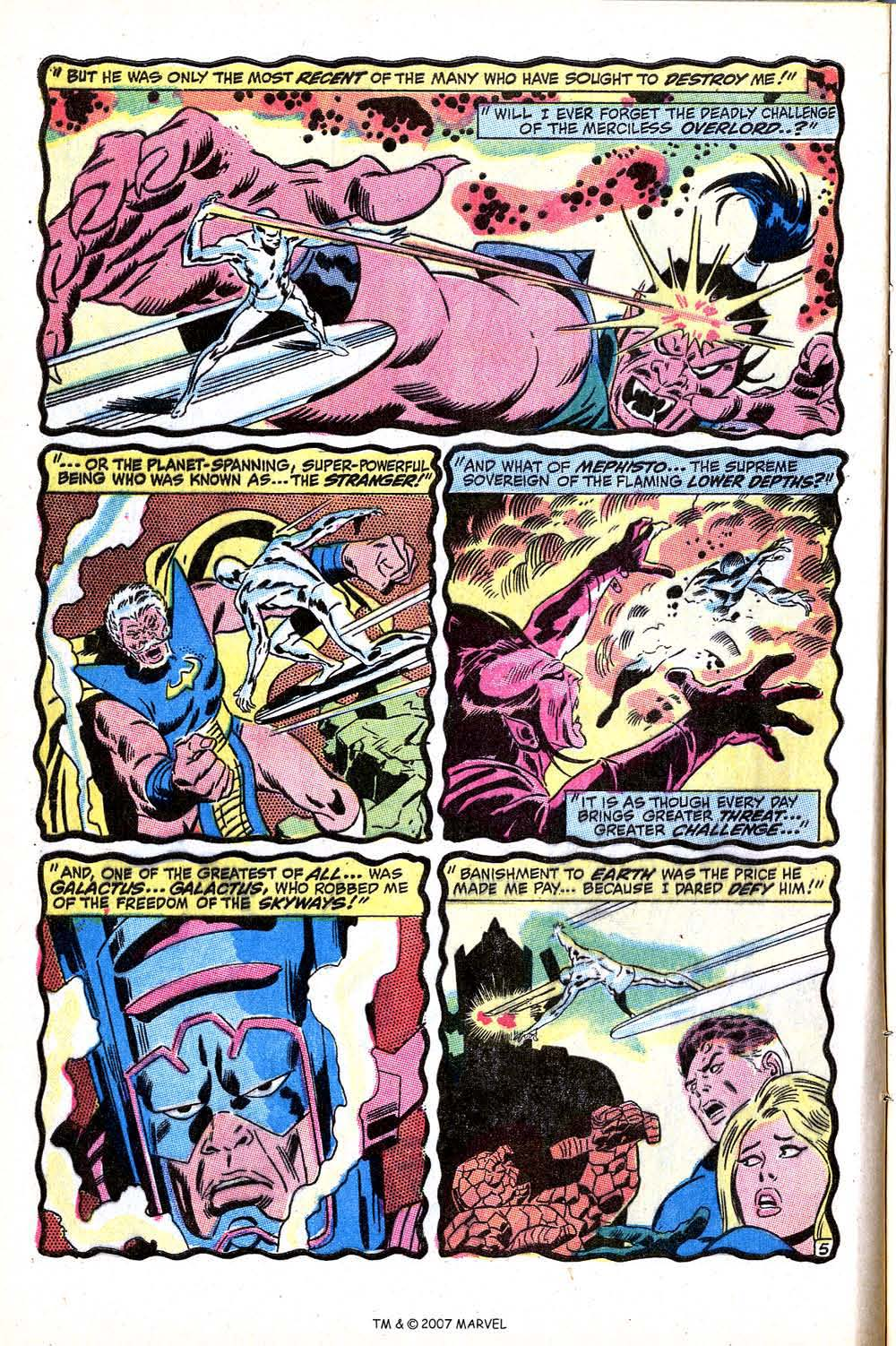 Read online Silver Surfer (1968) comic -  Issue #15 - 8