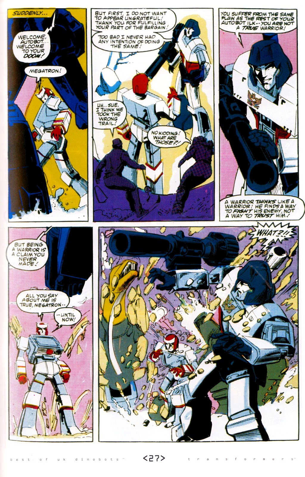 Read online The Transformers: Best of UK: Dinobots comic -  Issue #6 - 30