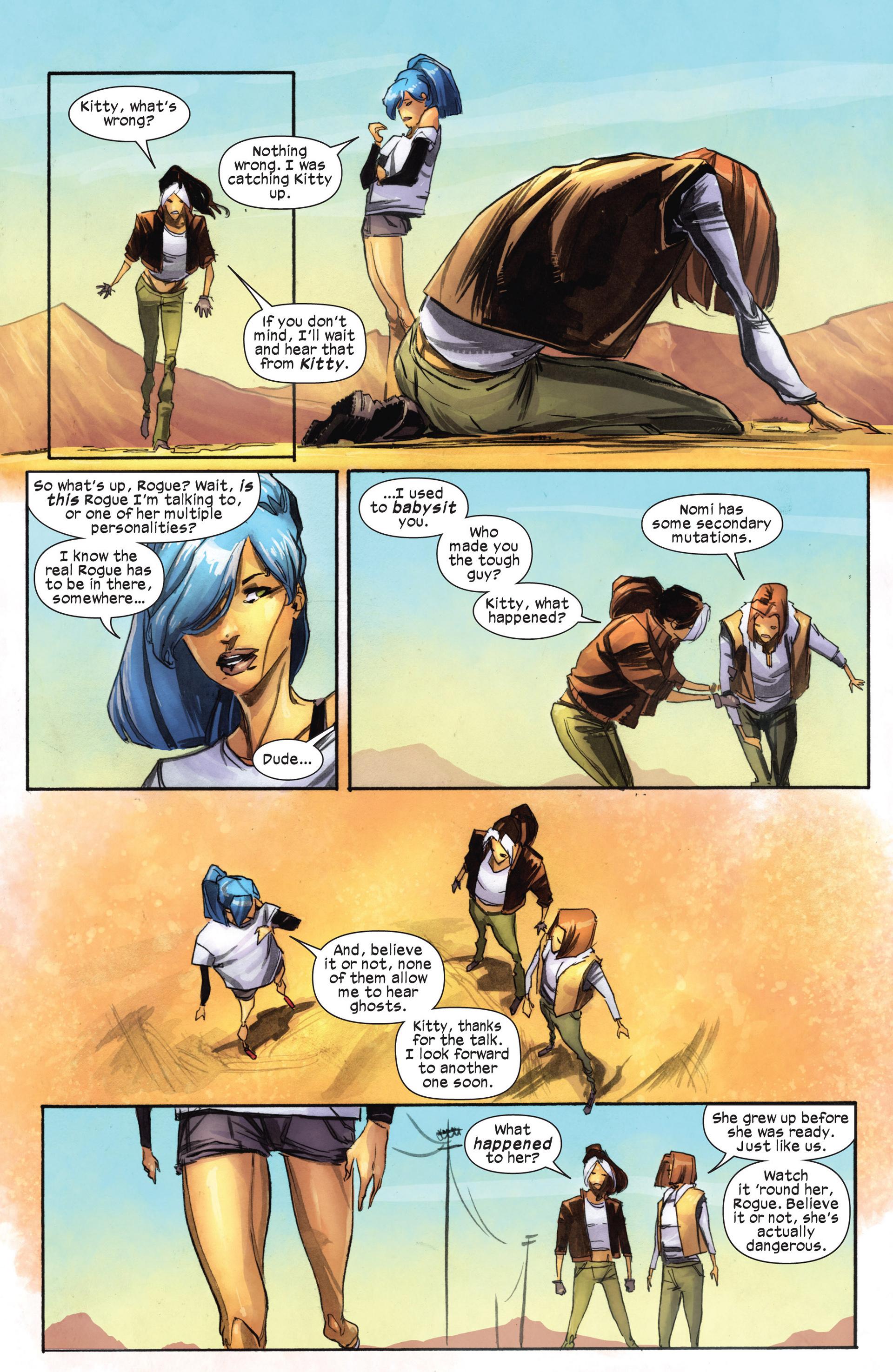 Read online Ultimate Comics X-Men comic -  Issue #18.1 - 17