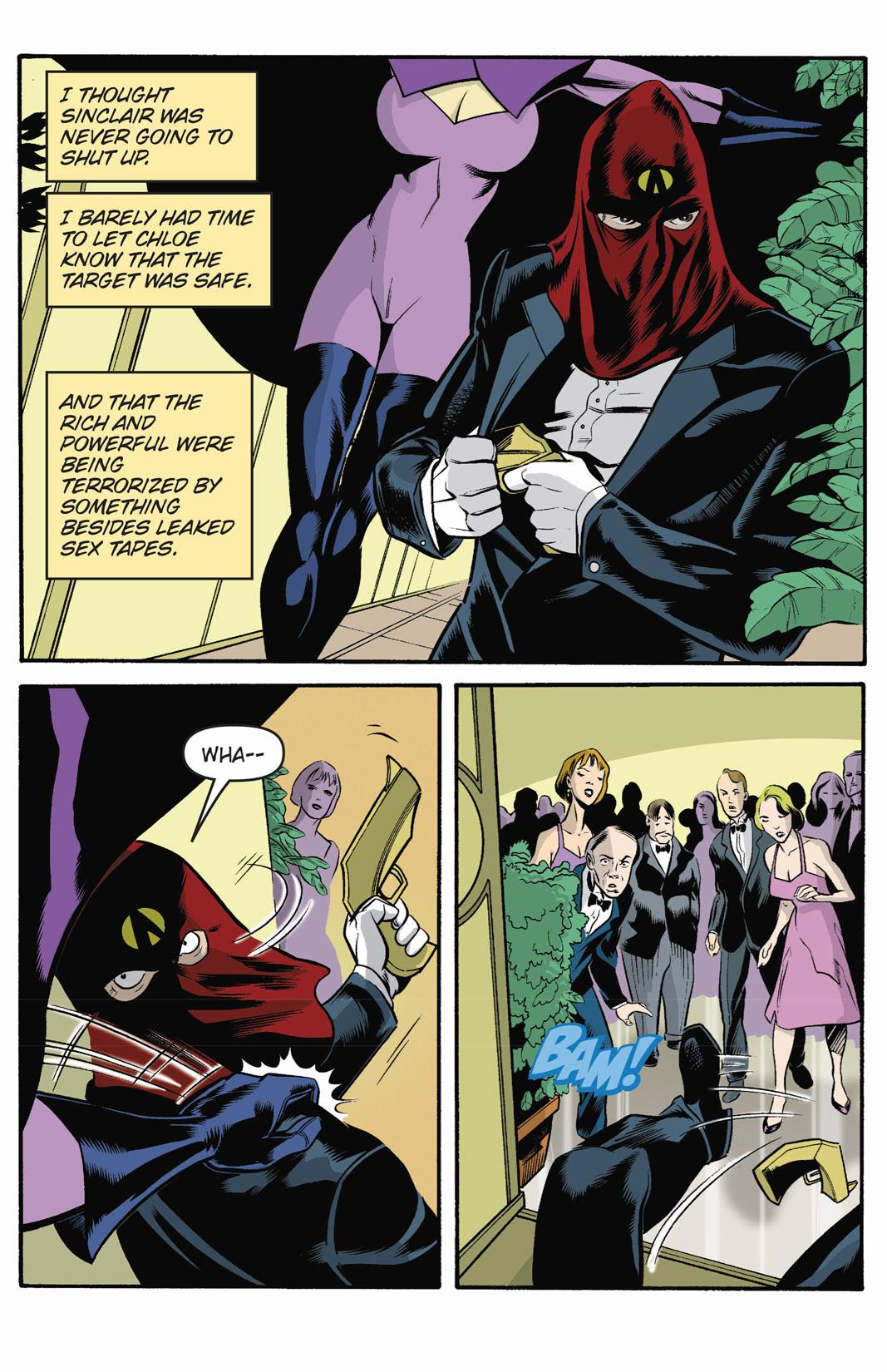 Read online SideChicks comic -  Issue #1 - 11