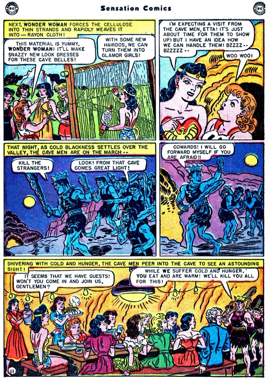 Read online Sensation (Mystery) Comics comic -  Issue #91 - 13