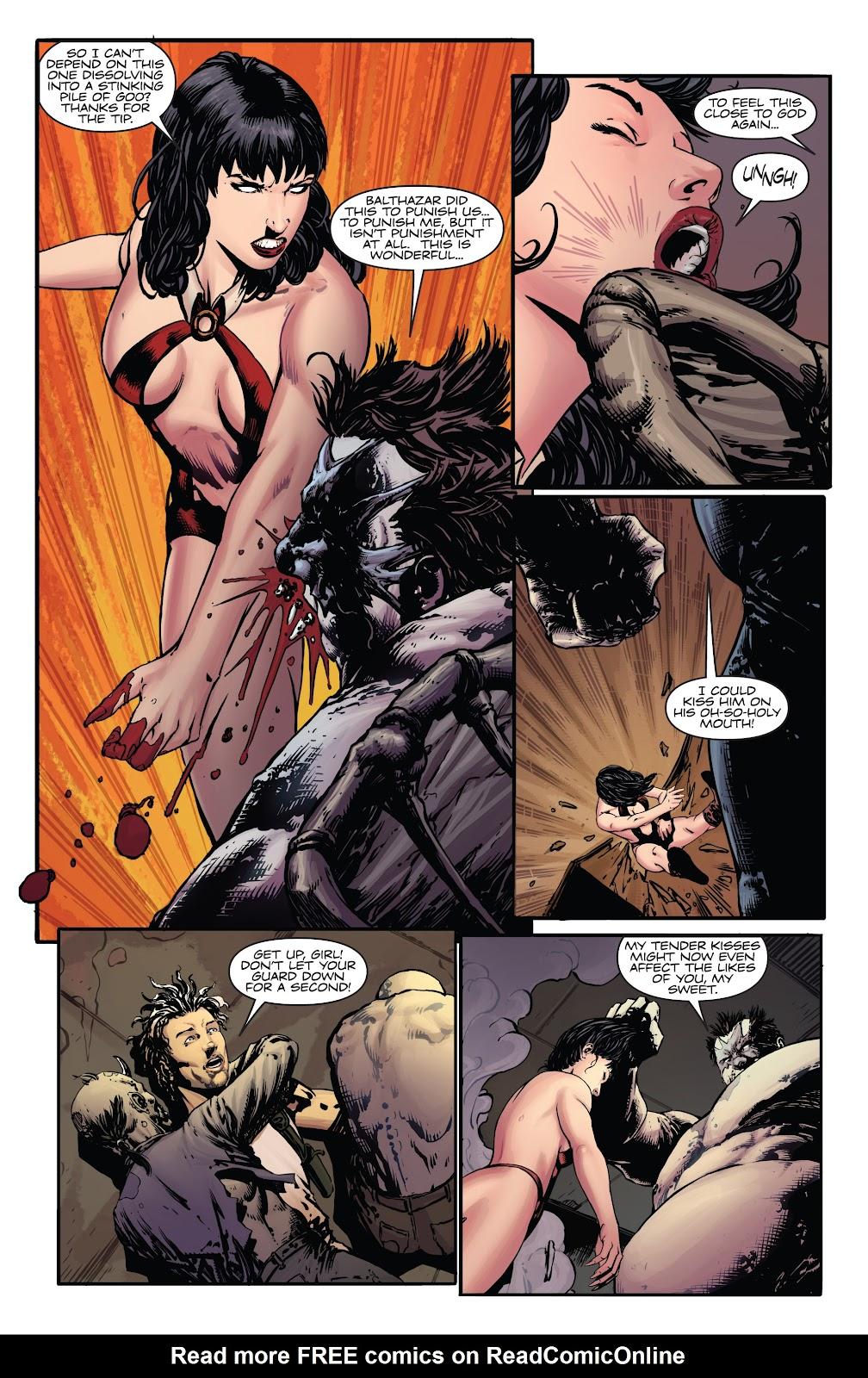 Read online Vampirella Strikes comic -  Issue #5 - 18