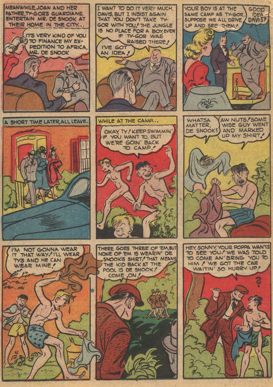 Blue Ribbon Comics (1939) issue 16 - Page 40