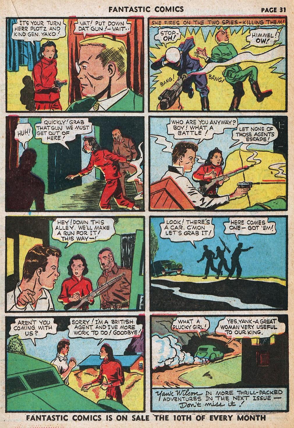 Read online Fantastic Comics comic -  Issue #20 - 32