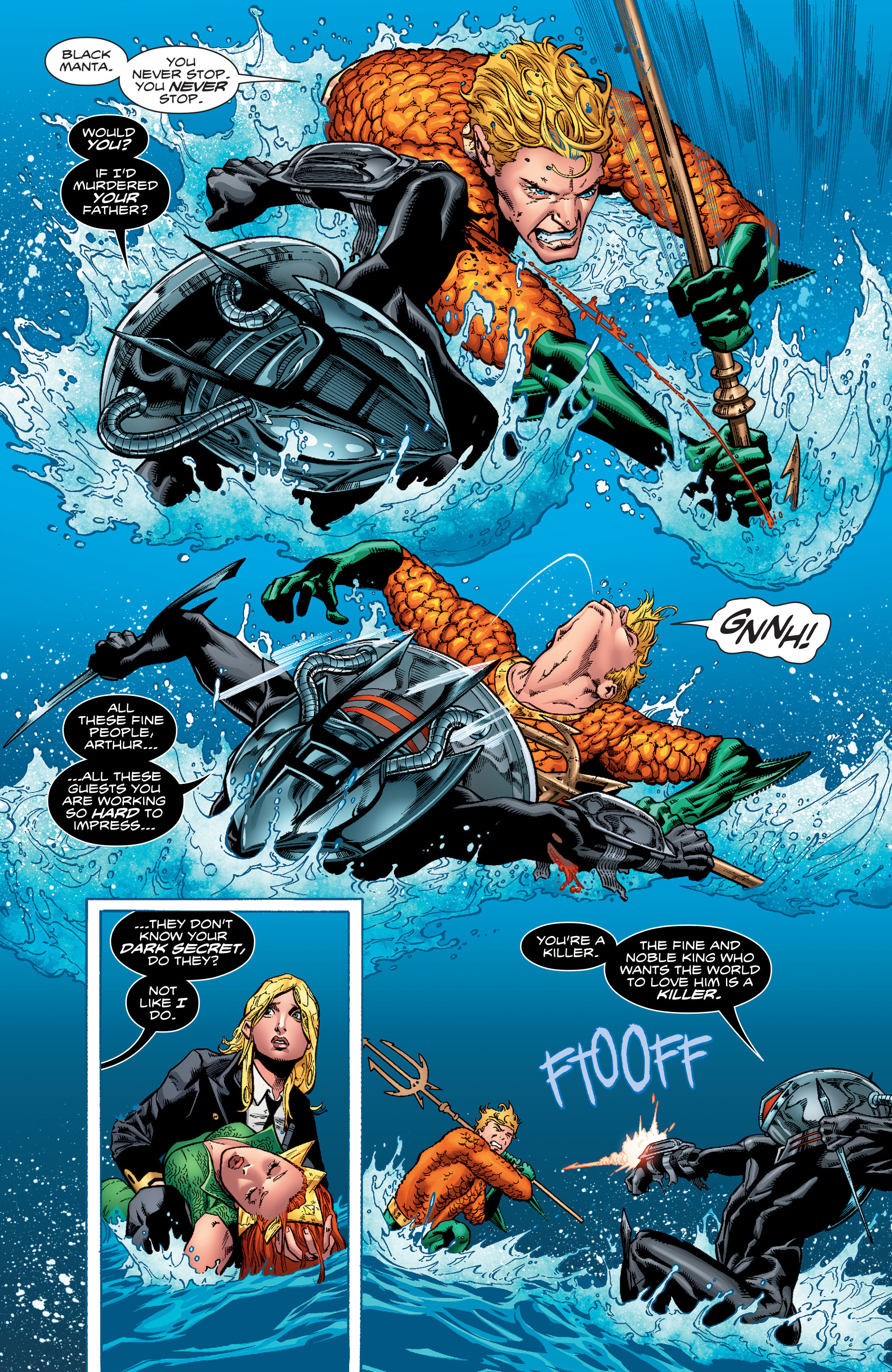 Read online Aquaman (2016) comic -  Issue #1 - 22