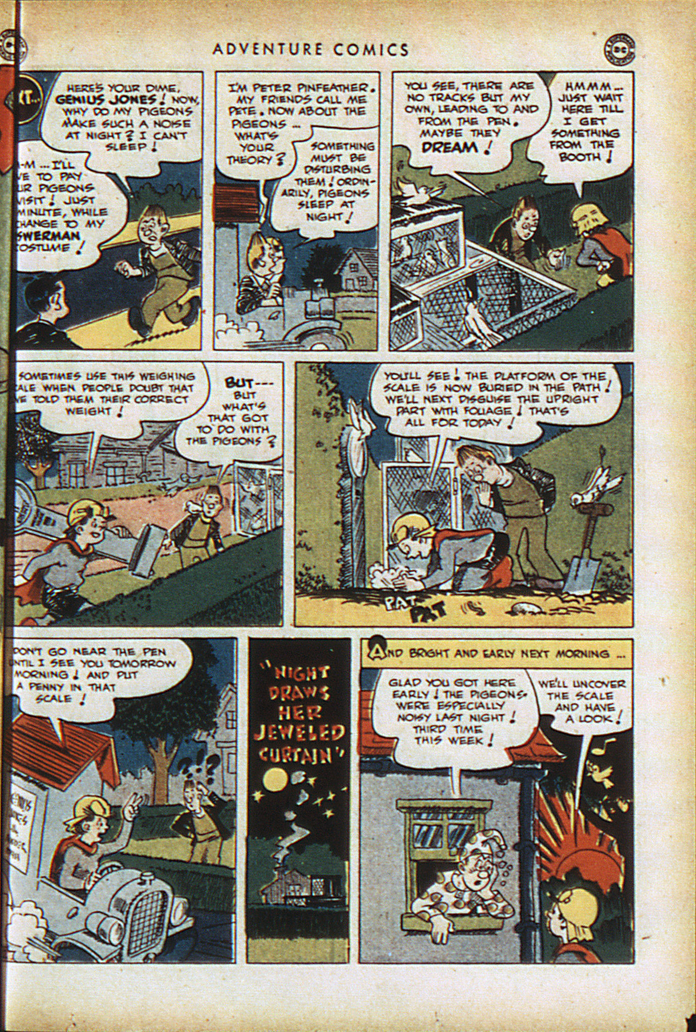 Read online Adventure Comics (1938) comic -  Issue #94 - 36