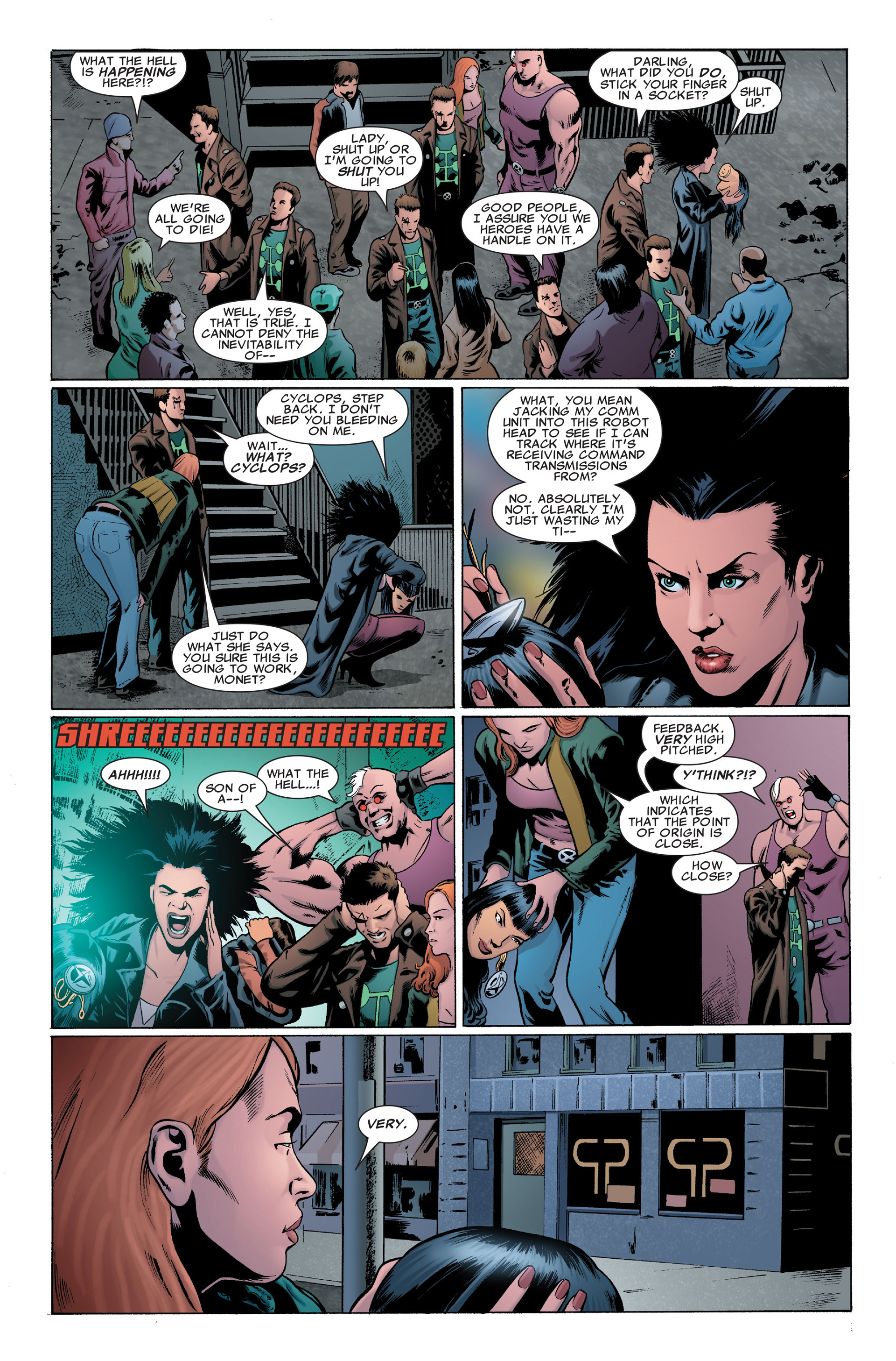 Read online X-Factor (2006) comic -  Issue #30 - 21