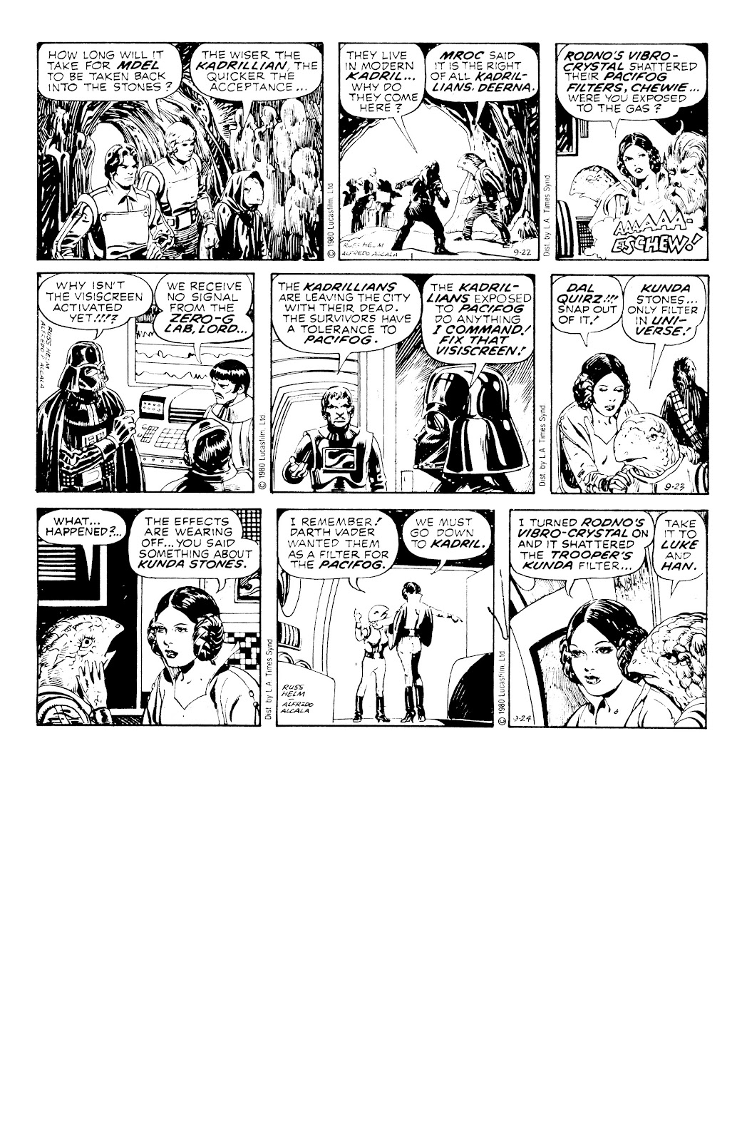 Read online Star Wars Legends: The Newspaper Strips - Epic Collection comic -  Issue # TPB (Part 3) - 99