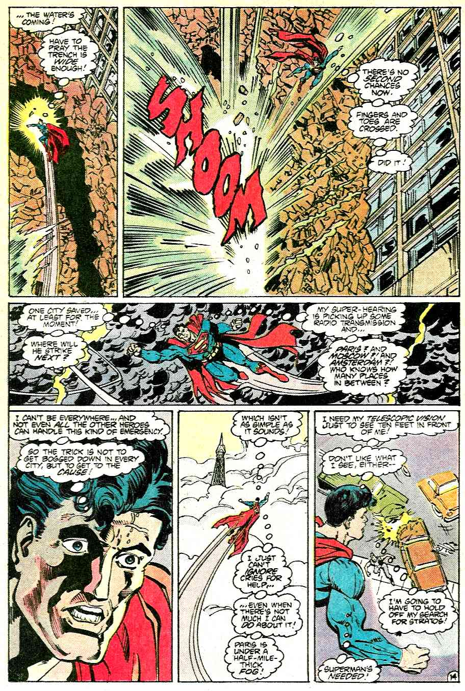 Read online Adventures of Superman (1987) comic -  Issue #431 - 14