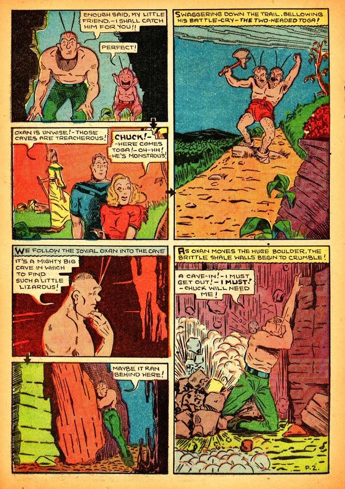 Read online Amazing Man Comics comic -  Issue #12 - 44