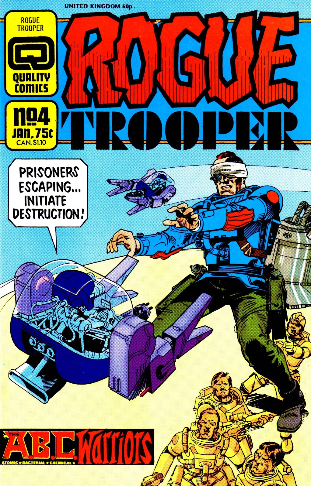 Rogue Trooper (1986) issue 4 - Page 1
