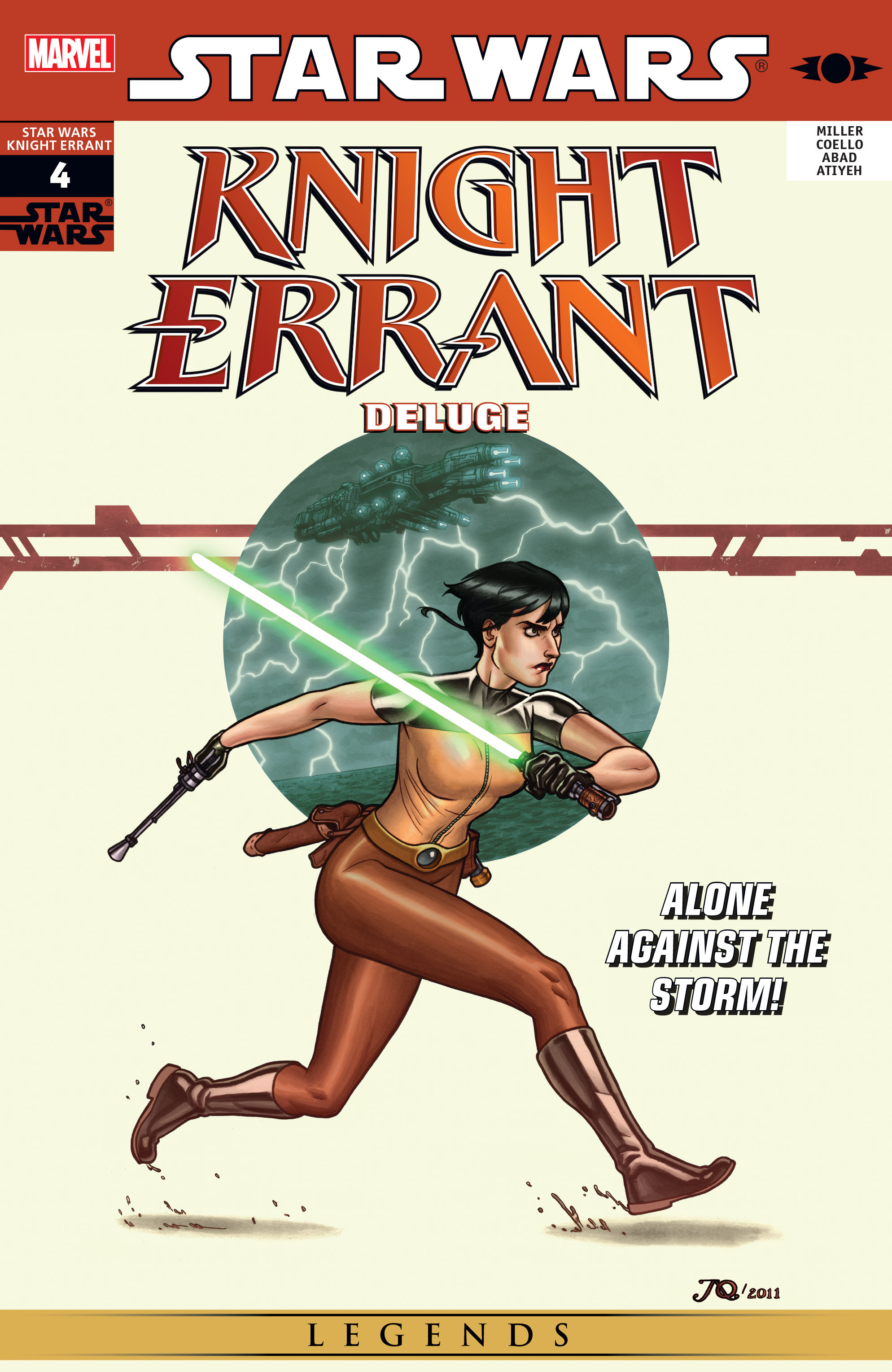 Read online Star Wars: Knight Errant - Deluge comic -  Issue #4 - 1