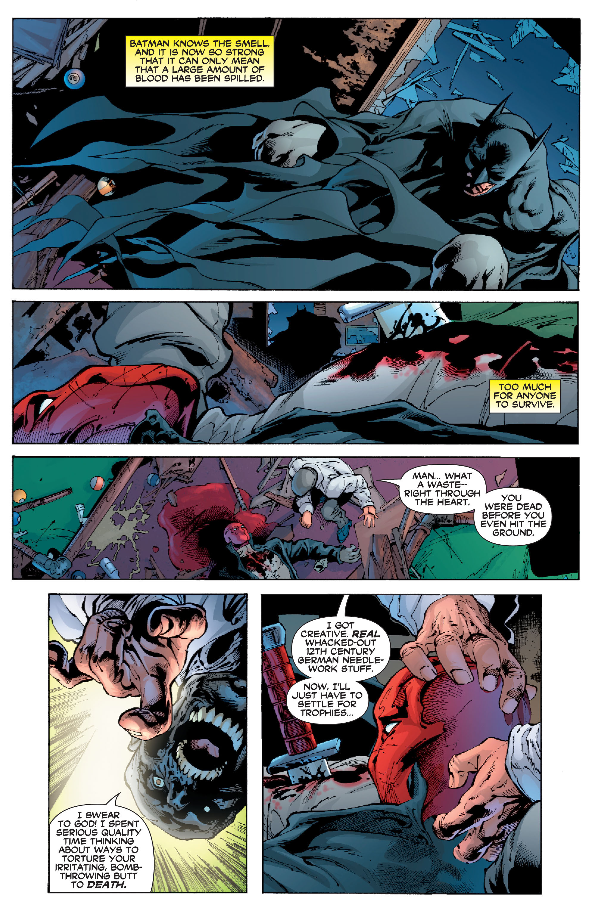 Read online Batman: Under The Red Hood comic -  Issue # Full - 273