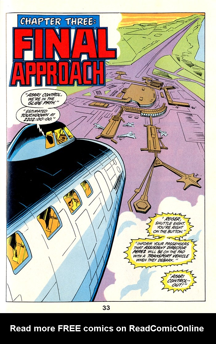 Read online Atari Force (1982) comic -  Issue #1 - 35