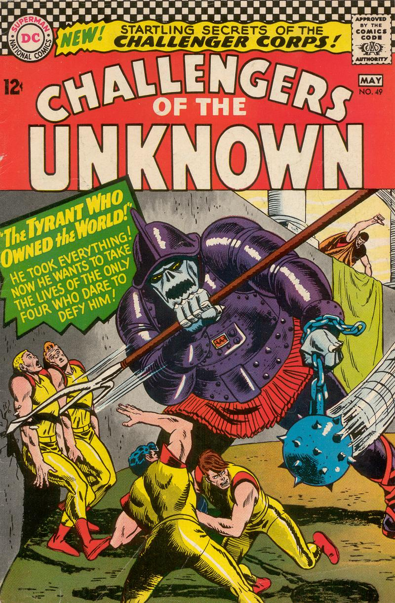 Challengers of the Unknown (1958) 49 Page 1