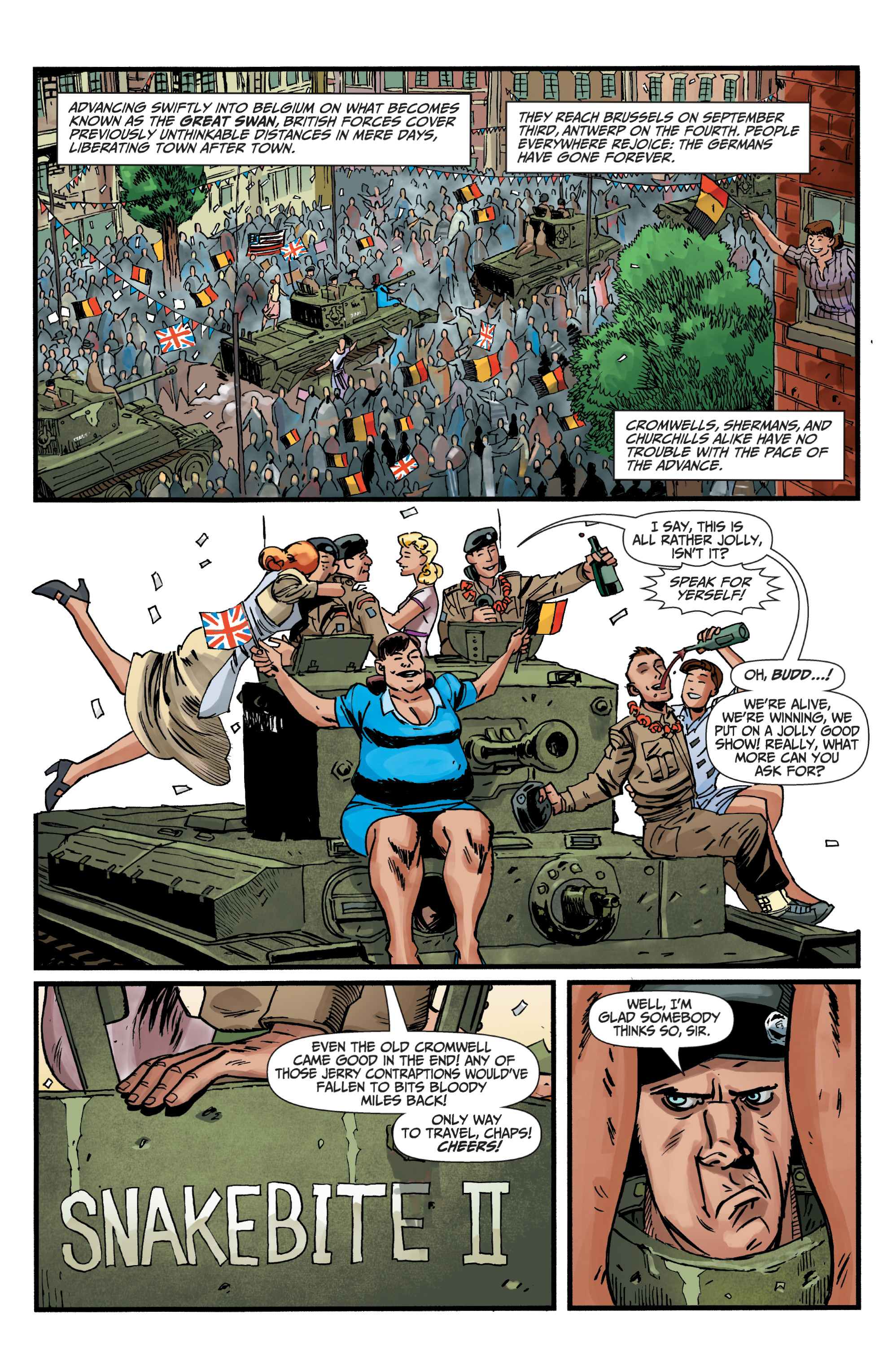 Read online World of Tanks comic -  Issue #5 - 23