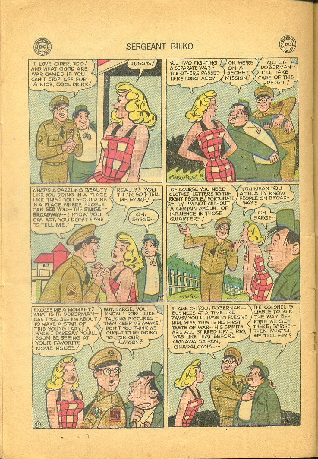 Sergeant Bilko issue 1 - Page 22