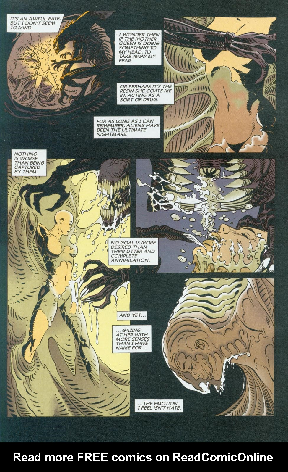Read online Aliens/Predator: The Deadliest of the Species comic -  Issue #9 - 4