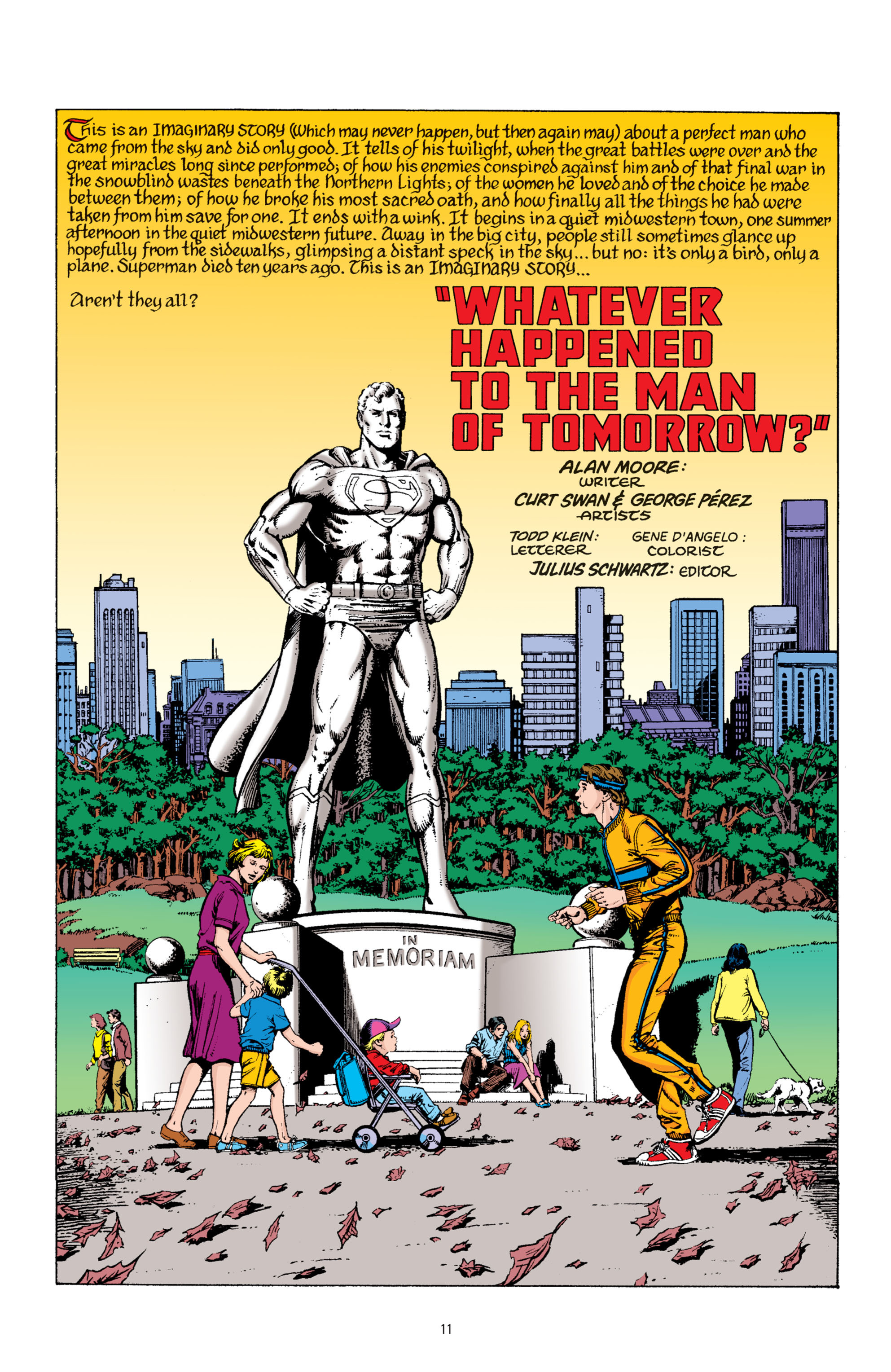 Read online Superman: Whatever Happened to the Man of Tomorrow? comic -  Issue # TPB - 10