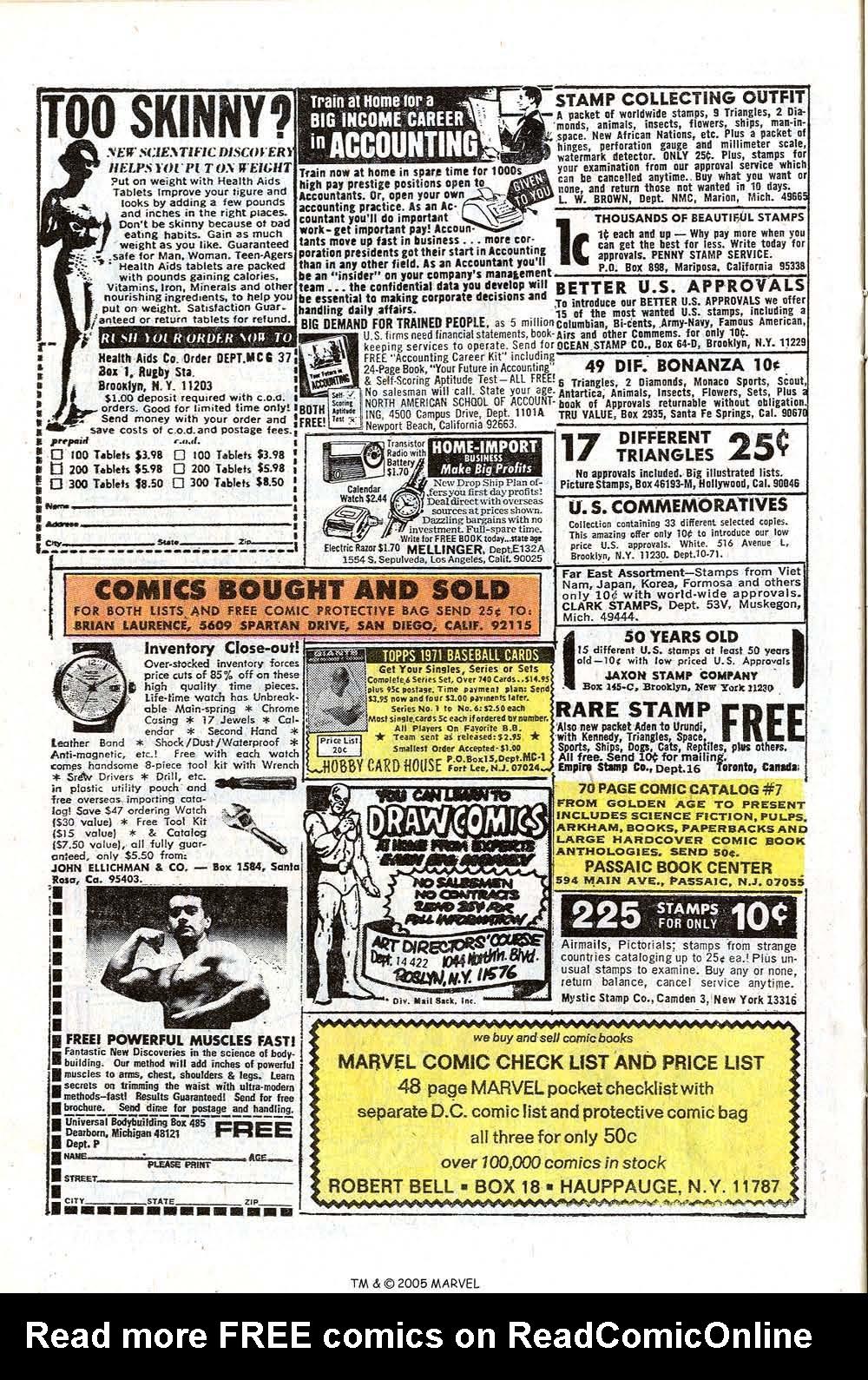 Read online Uncanny X-Men (1963) comic -  Issue #73 - 22